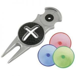 3-in-One Pitchfork, Ball Marker & Alignment Tool