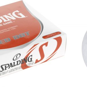 Spalding Red Dot white balls with 85 compression